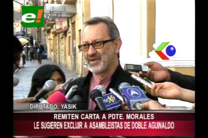 Diputado Yaksic pide que los parlamentarios donen su segundo aguinaldo a víctimas de la dictadura