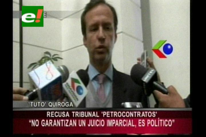 Petrocontratos: Defensa de Quiroga recusa a magistrados del TSJ