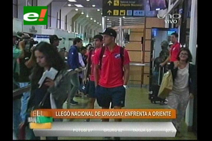 Copa Libertadores: Nacional ya está en Santa Cruz para enfrentar a Oriente Petrolero