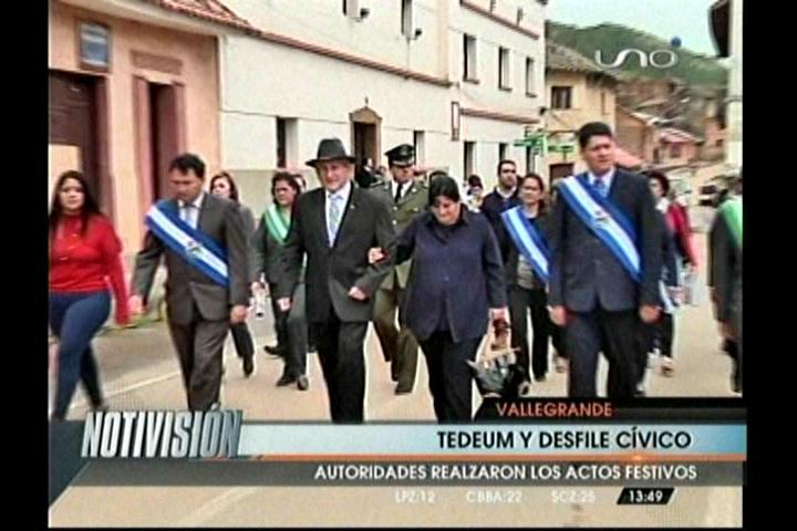 En su aniversario, inician proyectos en Vallegrande
