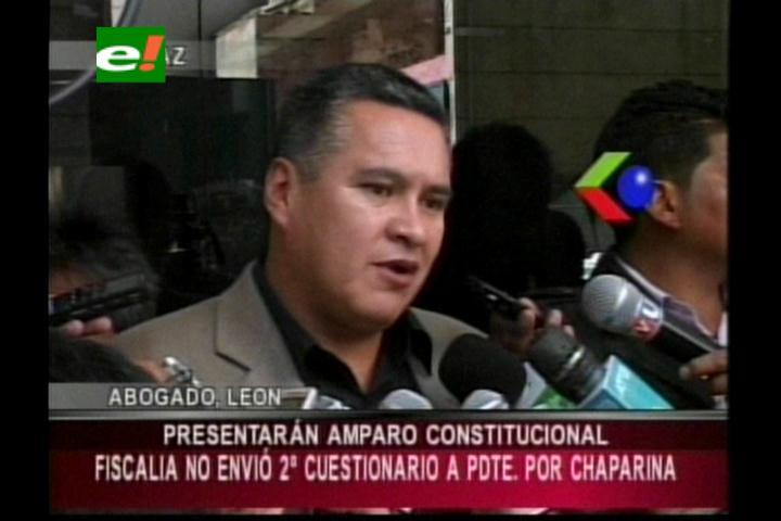 Caso Chaparina: Víctimas de represión presentarán un amparo constitucional