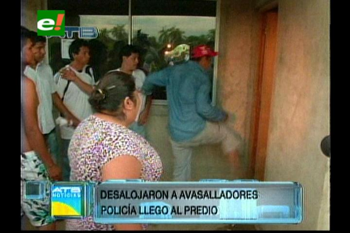 La Guardia: Enfrentamiento entre loteadores y propietarios deja varios heridos