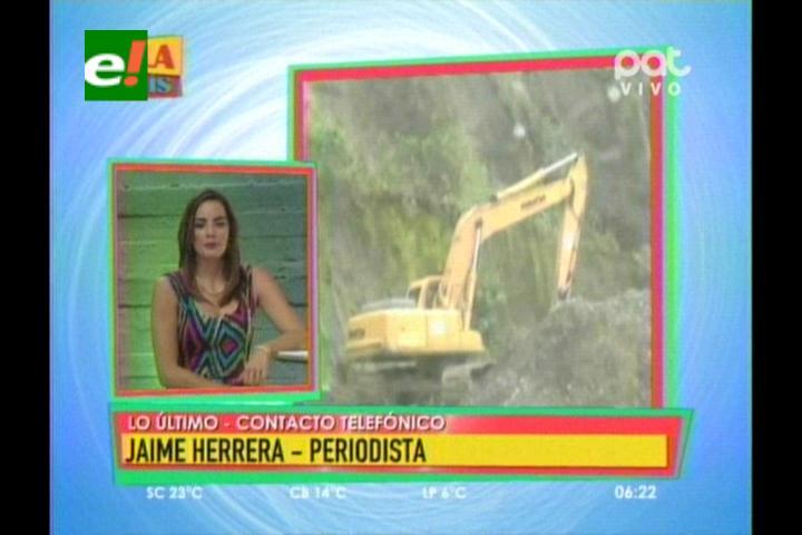 Desborde del río Sajta provoca el cierre de la nueva ruta a Cochabamba