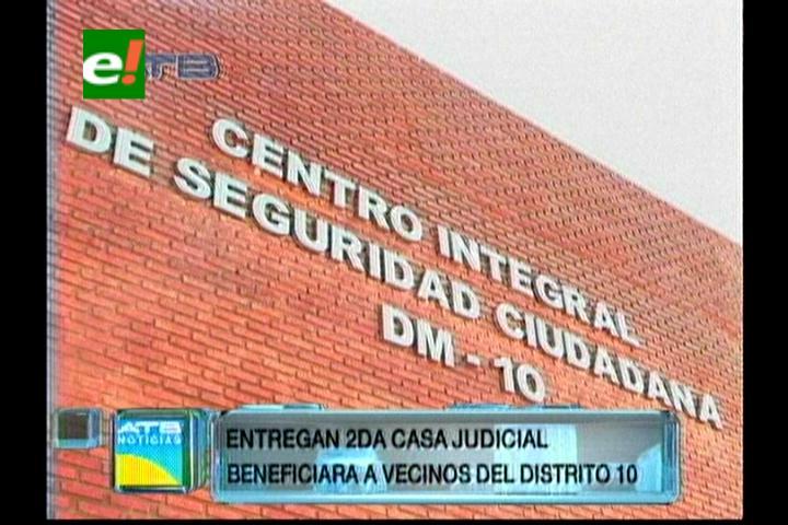 Santa Cruz: Entregan segunda casa judicial en el Distrito-10