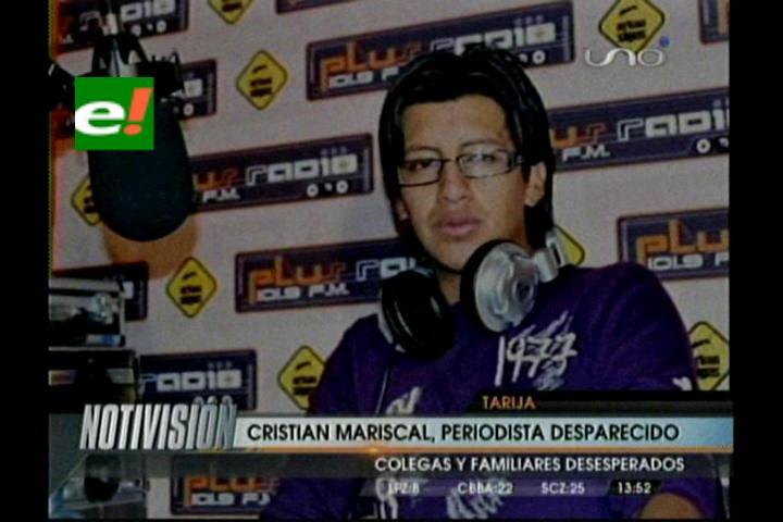 Policía en Tarija busca a periodista desaparecido