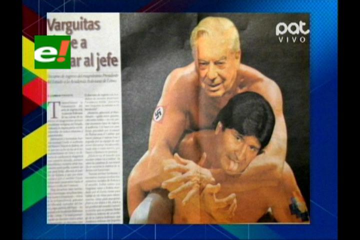 Alasitas muestra portadas de periódicos