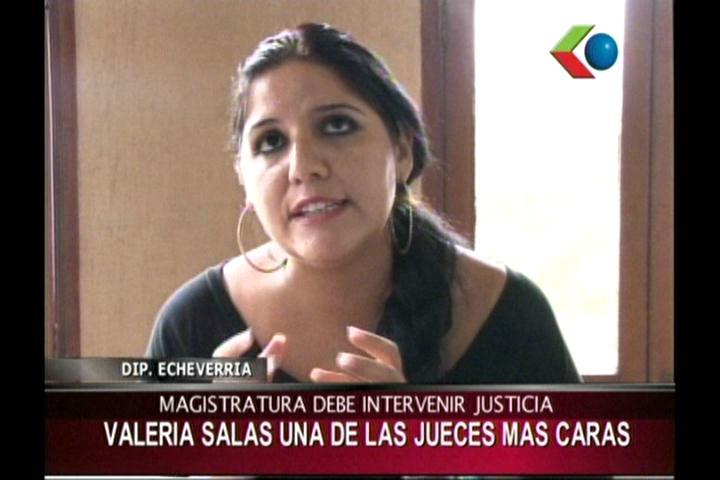 Diputada Echeverría pide a la Presidenta del CM intervenir el Tribunal de Justicia de Santa Cruz