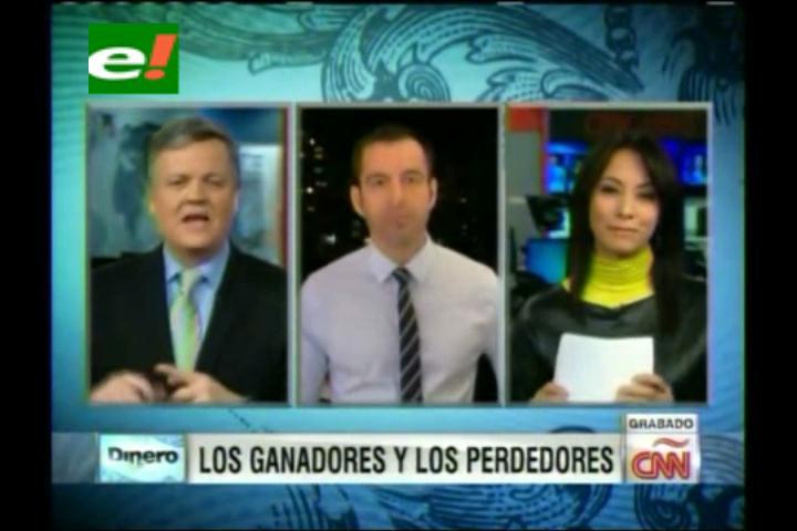 CNN otorga medalla de oro en economía al gobierno boliviano