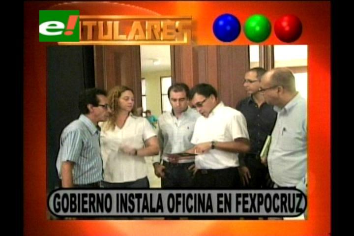 Titulares: Gobierno instala una oficina en la Fexpocruz para coordinar cumbre del G-77