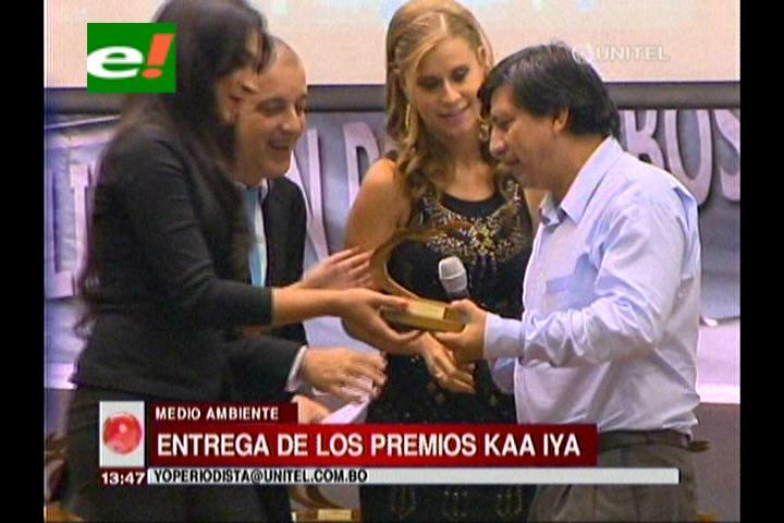 ABT condecoró con el premio Kaa Iya a instituciones que protegen el medio ambiente