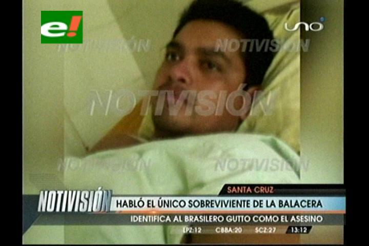 Habló el sobreviviente de la balacera en la fiesta de brasileros