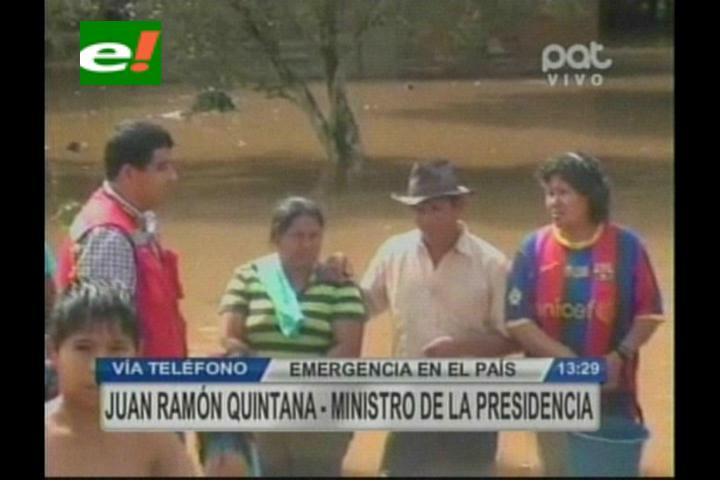 Gobierno abastecerá a Rurrenabaque, Reyes y Santa Rosa mediante un puente aéreo