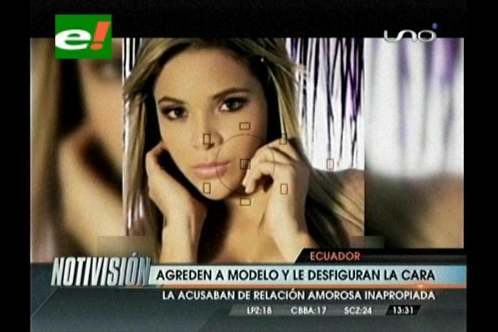 Ecuador: Agreden a modelo y le desfiguran la cara
