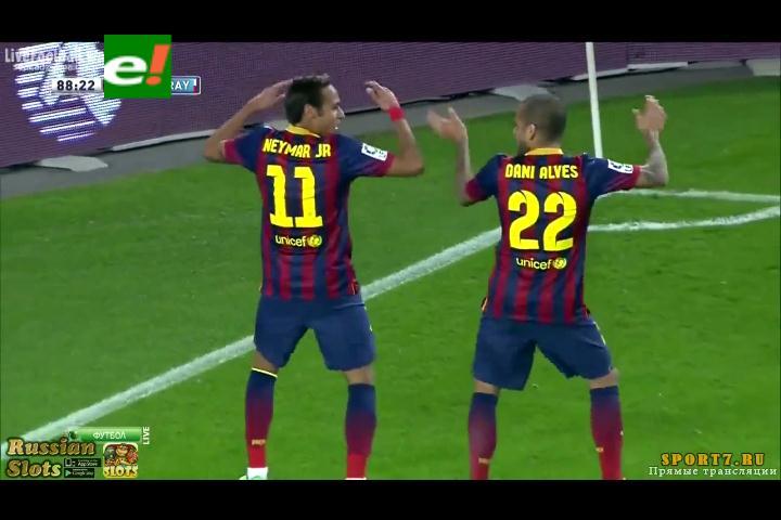 El polémico festejo de Neymar que generó el rechazo de la prensa de España