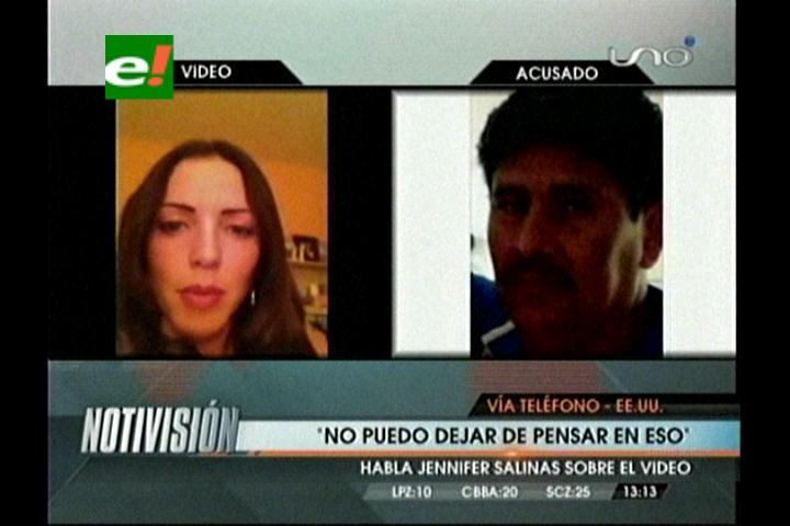 """Jennifer Salinas: """"Quiero que mi violador vea el video, sienta miedo y se esconda debajo de una roca"""""""