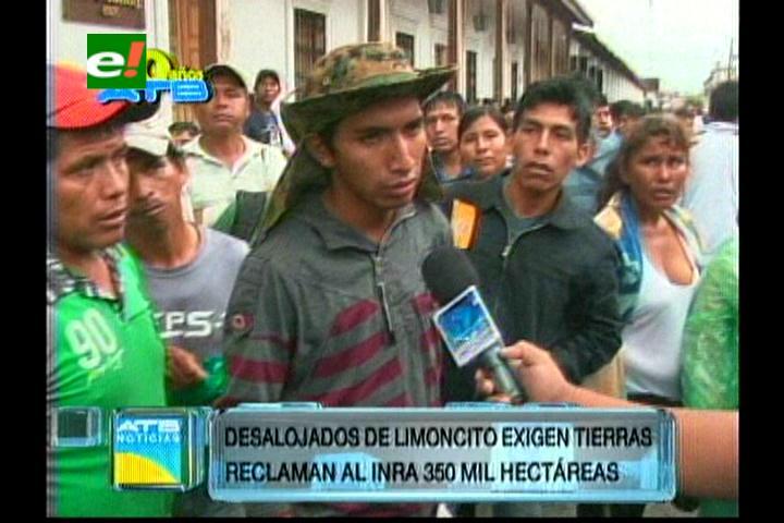 Lío de tierras provocan cerco del INRA-Santa Cruz