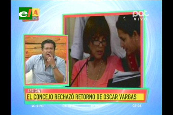 Santa Cruz: Concejo trunca el regreso de Oscar Vargas y se activan procesos