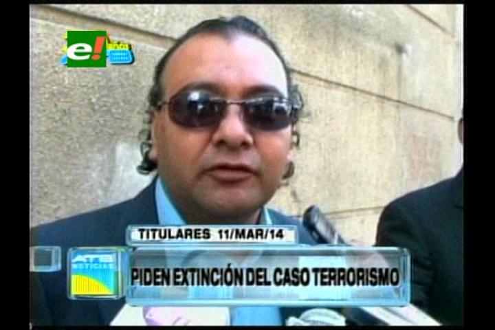 Titulares:  Imputados por el caso terrorismo piden la extinción del proceso