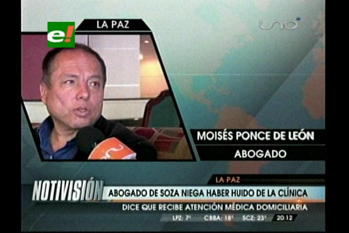 Niegan fuga del abogado Ponce de León