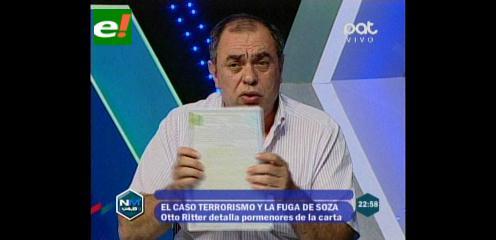 """Abogado Ritter: """"El Embajador Justiniano está obstruyendo a la justicia al no legalizar la carta de Soza"""""""