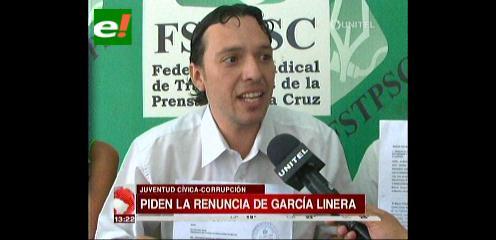 Juventud Cívica pide la renuncia del Vicepresidente
