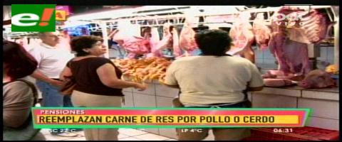 Santa Cruz: Por falta de carne, muchos compran pollo y pescado