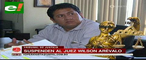 Santa Cruz: Suspenden al juez Wilson Arévalo
