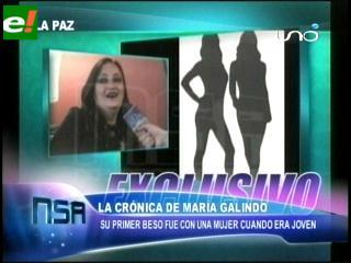 """María Galindo: """"Yo nací lesbiana"""""""