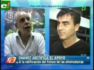 Chávez y Quinteros en contra ruta