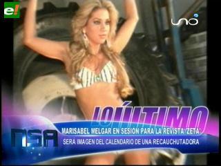 María Isabel Melgar imagen de calendario 2011