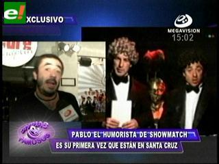 Pablo adelantó el show de Aguinaltango