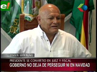 """Luis Núñez:""""Este Gobierno es juez, fiscal y carcelero"""""""