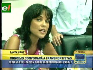 Concejo Municipal convoca a transportistas