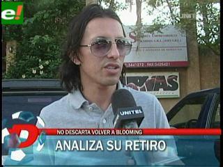 Juan Manuel Peña podría retirarse del fútbol con la camiseta de Blooming