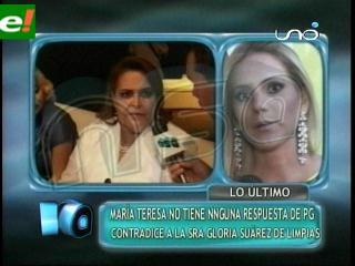 María Teresa Roca sigue a la espera de una respuesta de PG