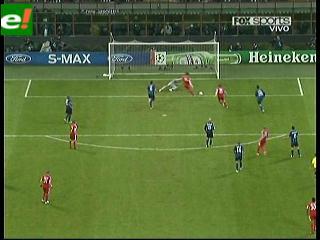 Inter cayó de local 1-0 con el Bayer Múnich
