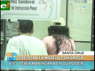 Cae otra ex modelo con droga