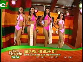 Jéssica Vaca se llevó el título de Miss Verano 2011