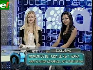 Momento de furia entre Pía Martínez y Moira Armella