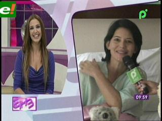 Sandra Parada está hospitalizada