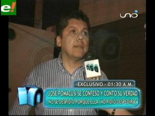 José Pomacusi: «Nunca hubo discusión entre nosotros»