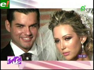 Nicol Pulino y Rodrigo Saucedo se casaron