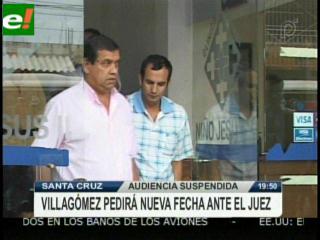 Abogado de Villagómez pedirá nueva audiencia