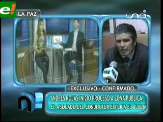 Periodista Andrés Rojas inicia acción legal en contra de programa «zona pública»