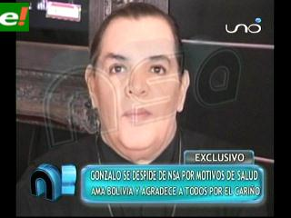 Gonzalo Cáceres se despidió de NSA