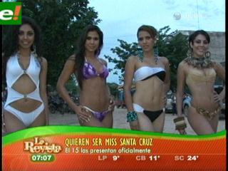 Aspirantes al Miss Santa Cruz 2011