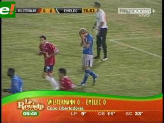Wilstermann sin pena ni gloria
