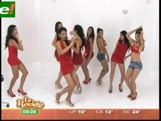 Van por la corona del Miss Santa Cruz 2011