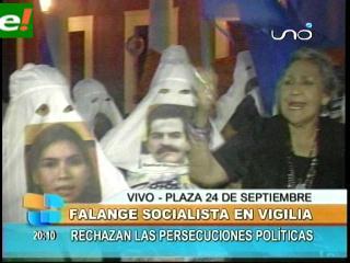 Familiares de Juan Carlos Santistevan inician vigilia