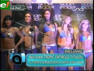 Bolivian Tropic 2011 entregó títulos